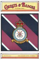 Postcard RAF Royal Air Force Station STANBRIDGE Crest Badge No.135 NEW