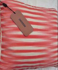 MISSONI HOME $232 Nick 561 Reversible Zigzag Stripe Pillow Cushion 15x15 BNWT