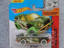 Hot Wheels 2014 # 184/250 Off PISTA VERDE LOTE M HW CARRERA Treasure Hunt T-HUNT