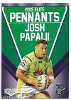 2015 NRL Elite Pennants (EP 8 / 80) Josh PAPALII Raiders