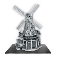 Windmill: Metal Earth 3D Miniature Laser Cut Model Kit 2 sheets