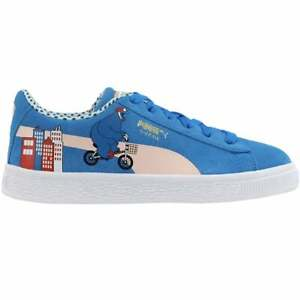 Puma Sesame Street 50 Suede Lace Up    Kids Boys  Sneakers Shoes Casual   - Size