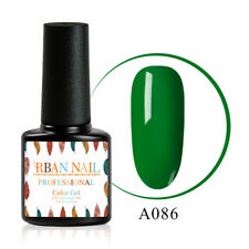 7ML Green Series UV Gel Soak Off Nail Polish UV LED Lacquer Manicure 10 Colors