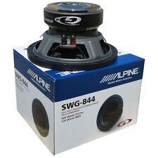 "SUB SUBWOOFER ALPINE SWG-844 20,00 8 CM"" PANEL CASH HOOD TRUNK 3,7 KG"