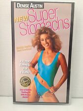 DENISE AUSTIN ~ SUPER STOMACHS ~ WORKOUT ~ VHS VIDEO