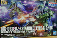 MS-06C-6/R6 ZAKU II Mass Produced Mobile Suit Bandai HG Kit 1:144 Gundam UC