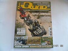 QUAD PASSION MAGAZINE N°84 06/2007 KAWASAKI KFX450R POLARIS SPORTSMAN 800X2E  H7