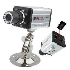 telecamera videosorveglianza led infrarossi con registrazione su micro SD
