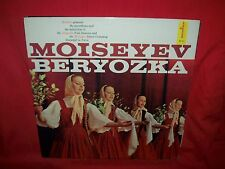 MOISEYEV BERYOZKA DANCE COMPANY Russian Folk Dances LP 1958 USA MINT-