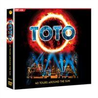 Toto - 40 Tours Around the Sun - New 2CD/DVD Album