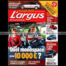 L'ARGUS N°4076 ALFA ROMEO SPIDER VOLVO X70 PEUGEOT 207 RC VW PASSAT KANGOO 2007