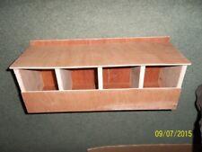 4 BAY TERRACE FINCH NEST BOX FOR & CAGE & AVIARY BIRDS