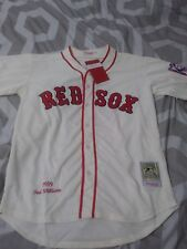 1939 Ted Williams Boston Red Sox Cream Jersey Size Men's XXL sz 52