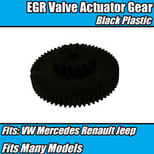EGR Valve Actuator Gear Repair Black Plastic 7701060686 For Mercedes VW Golf 5