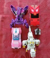 Transformers LOT Of 4 Cyberverse Deluxes Arcee Grimlock plus BONUS Megatron
