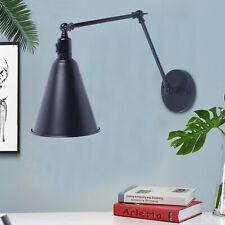 "Wall Sconces Light Mounted Reading Light Fixture Black E26 12"" Retro Industrial"
