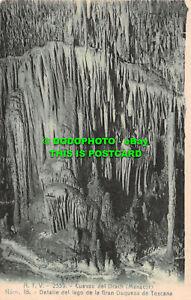 R486821 Cuevas del Drach. Manacor. Num. 16. Detalle de lago de la Gran Duquesa d