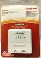 HONEYWELL CT31A HEAT/COOL NON-PROGRAMMABLE THERMOSTAT EASY TO INSTALL