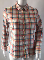 Jack Wills Womens Check Shirt Size 8 VGC Pit To Pit 18 Inches