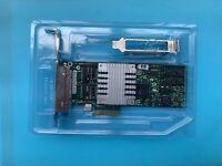 HP 436431-001 NC364T 4-Port Gigabit PCIe Adapter Both Brackets 435508-B21