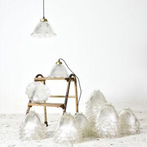 "Industrial Vintage Holophane Pendant Light 9"""