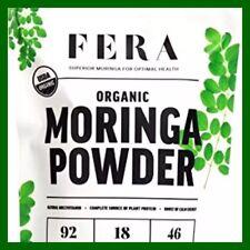 100% Pure Raw ORGANIC Moringa Leaf Superfood Powder 5.64 oz NUTRITION & ENERGY