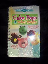 CAKE POPS & MINI TREATS - Favorite All Time Recipes -- 26 Fun & Fab Cake Pops