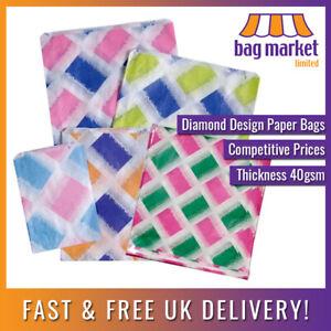 "Printed Random Paper Bags   5 x 7"", 7 x 9"", 8 x 11"", 10 x 14""   Sweet/Gift/Party"