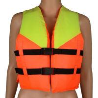 Youth Kids Polyester Life Jacket Swimming Boating Kayak Sailing Ski Foam Vest