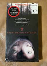 The Blair Witch Project (Vhs, 1999) Sealed and New