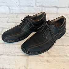 CLARKS Espace Mens Size 10 M Brown Leather Lace Up Casual Oxfords 86235 f1e