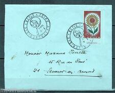 1964-DIJON//LETTRE.1°JOUR/FOIRE GASTRONOMIQUE//TIMBRE EUROPA://Y/T.1430