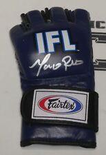 Marco Ruas Signed Official IFL Fight Glove BAS Beckett COA Pride UFC 7 Autograph