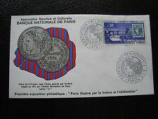 FRANCE - enveloppe 16-17/1/1971 (banque nationale de paris)  (cy81) french