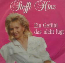 """7"""" 1990 KULT & RARE ! STEFFI HINZ : Ein Gefühl das nicht lügt (MINT-?)"""