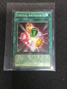 Crystal Abundance Yu-Gi-Oh Card
