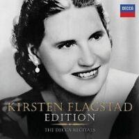 KIRSTEN FLAGSTAD - THE DECCA RECITALS 10 CD NEU WAGNER/BRAHMS/WOLF/BACH