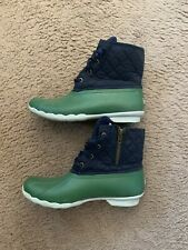 Women's Sperry® for J.Crew Shearwater quilted boots size 9