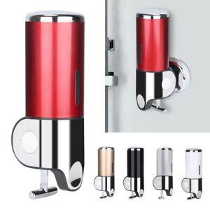 500ml Wall Mount Soap Dispenser Manual Hand Liquid Shampoo Shower Gel Dispenser