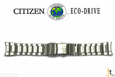 Citizen Eco-Drive BN0100-51E 23mm Stainless Steel Watch Band E168-S081491