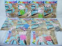 Lot 10 Kits de création Bracelets LOOM 2000 élastiques 10 crochets mode d'emploi