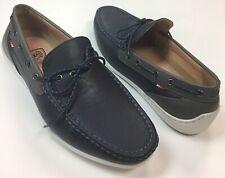 PHATFARM Classic Men's Navy/Grey Boat Shoes, Size: 8.5