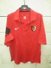 Polo rugby STADE TOULOUSAIN Toulouse NIKE shirt manches courtes rouge XL