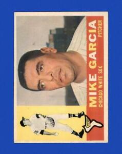 1960 Topps Set Break #532 Mike Garcia EX-EXMINT *GMCARDS*