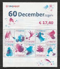 Nederland NVPH 2371-80 Cellofaanverpakking 3 vel Decemberzegels 2005 Postfris