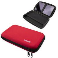 caseroxx GPS-Tasche für Garmin DriveSmart 65 in rot aus Kunstfaser