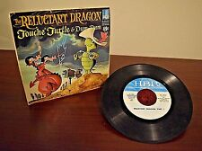 Hanna-Barbera: The Reluctant Dragon Starring Touche Turtle & Dum-dum 45RPM L@@K