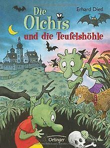 Die Olchis und die Teufelshöhle von Dietl, Erhard   Buch   Zustand gut