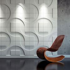 1 pcs ABS Plastic mold for Plaster 3D Decorative Wall Panels Techno Design