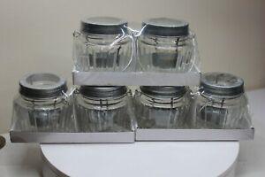 Wedding Votive Tea Light Lanterns Glass Metal Handle Summer Lantern Jars